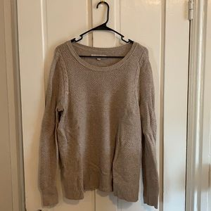 Loft cable knit sweater